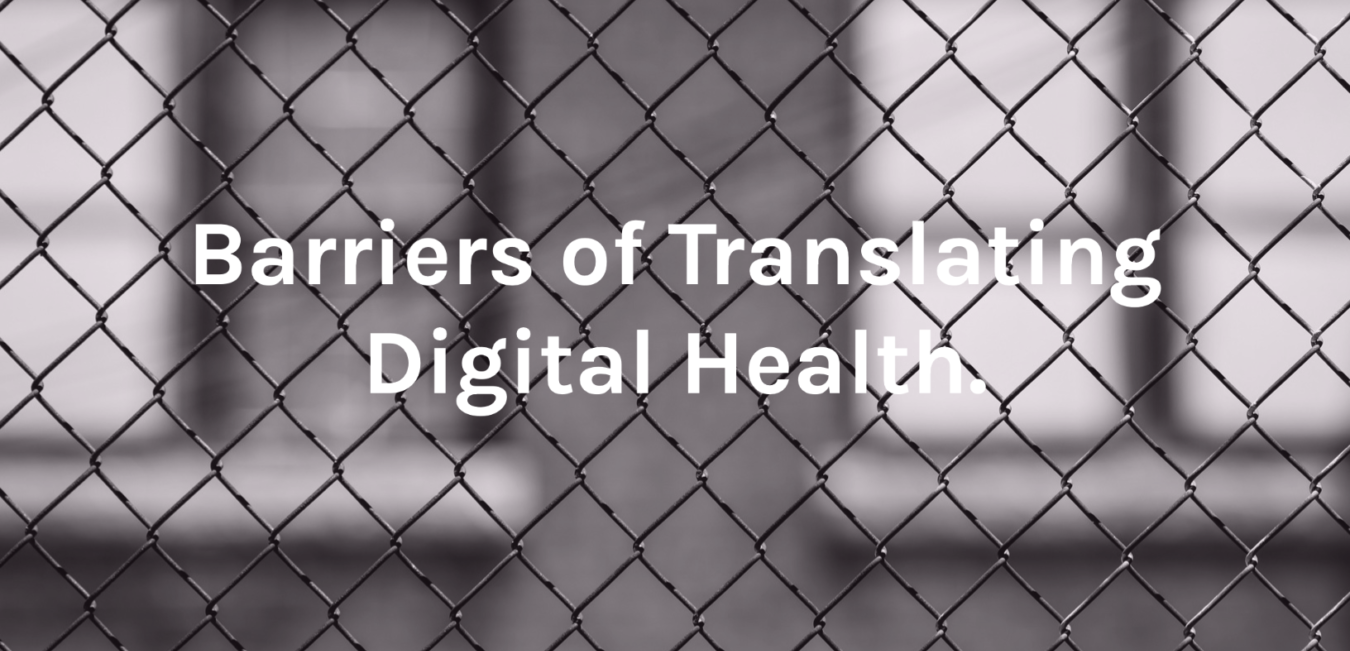 Barriers in Digital Health Beratung