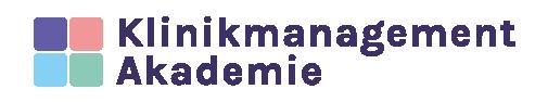 Logo der Klinikmanagement Akademie groß